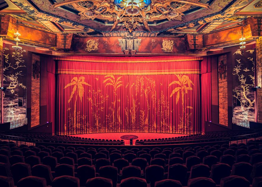 The TLC Chinese Theatre, I, Los Angeles, California, 2014 ...