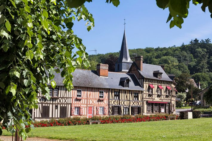 Le Bec-Hellouin is one of France's most beautiful villages, with its medieval abbey, flower-draped streets and photogenic ...