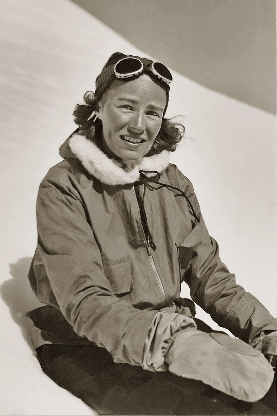 """Barbara Washburn was a novice before becoming a record-breaking, self-proclaimed """"accidental mountaineer."""""""