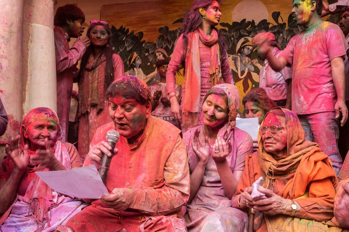 Music is an integral part of the Holi celebration. People of varying degrees of expertise gather ...