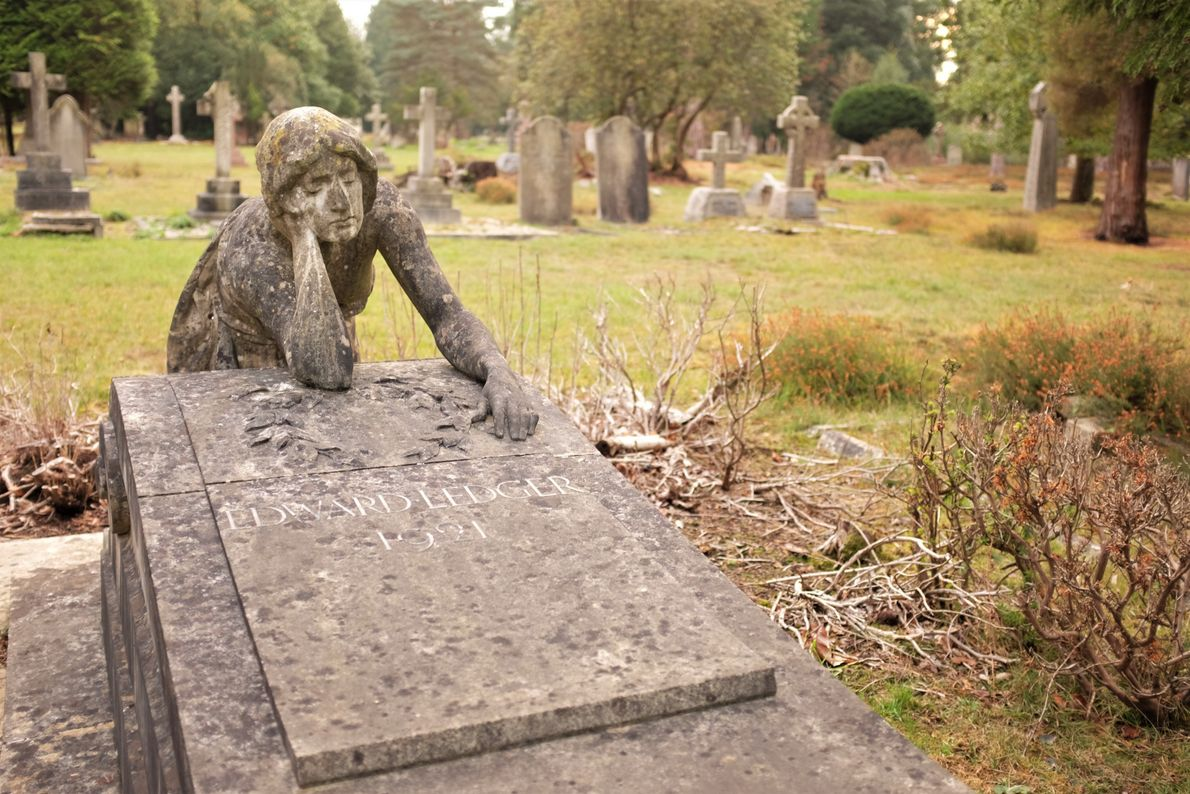 """Katie Thornton: """"The British's ever-evolving relationship to death is embodied in their tombstones. Skulls and other ..."""