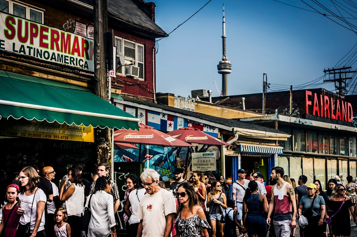 Located in the heart of Toronto, Kensington Market is Toronto's Bohemian neighbourhood, attracting artists and tourists ...