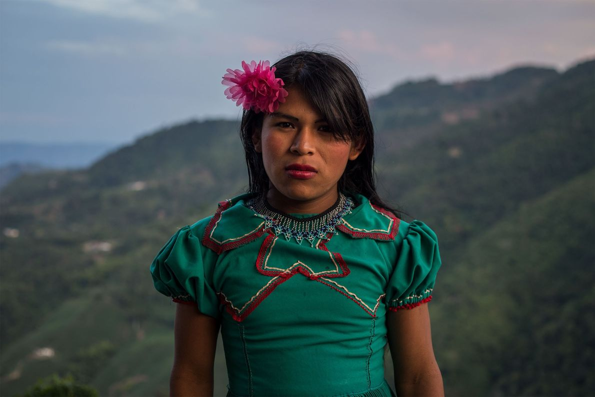 Even as a young child, Angélica didn't feel comfortable dressing as a boy. As a teenager, ...
