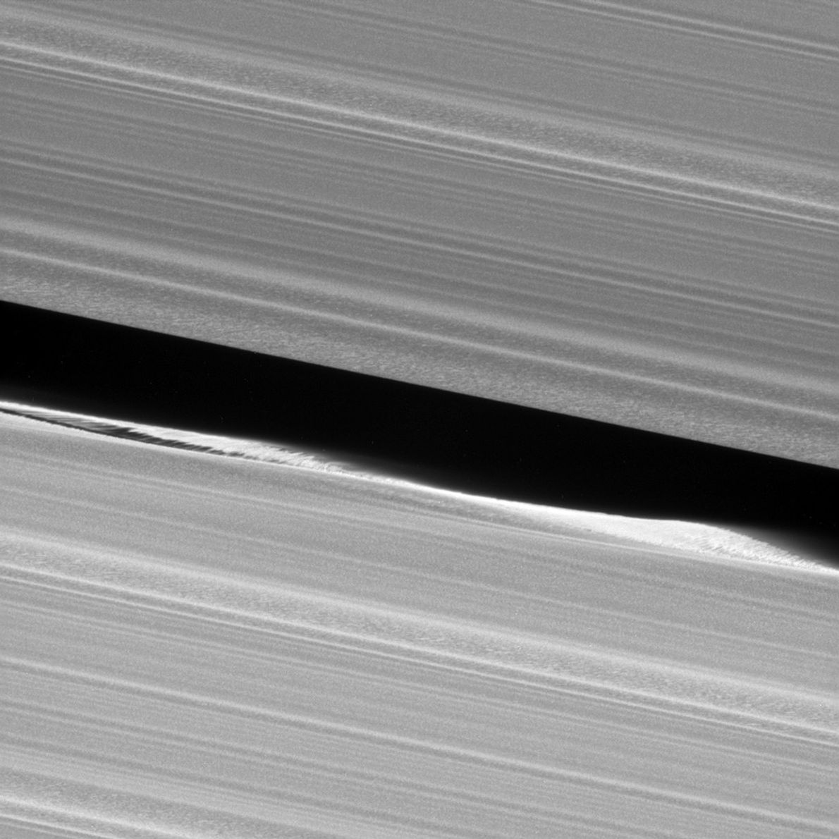 As Cassini prepared for its death dive into Saturn's atmosphere in 2017, it acquired unprecedented views ...