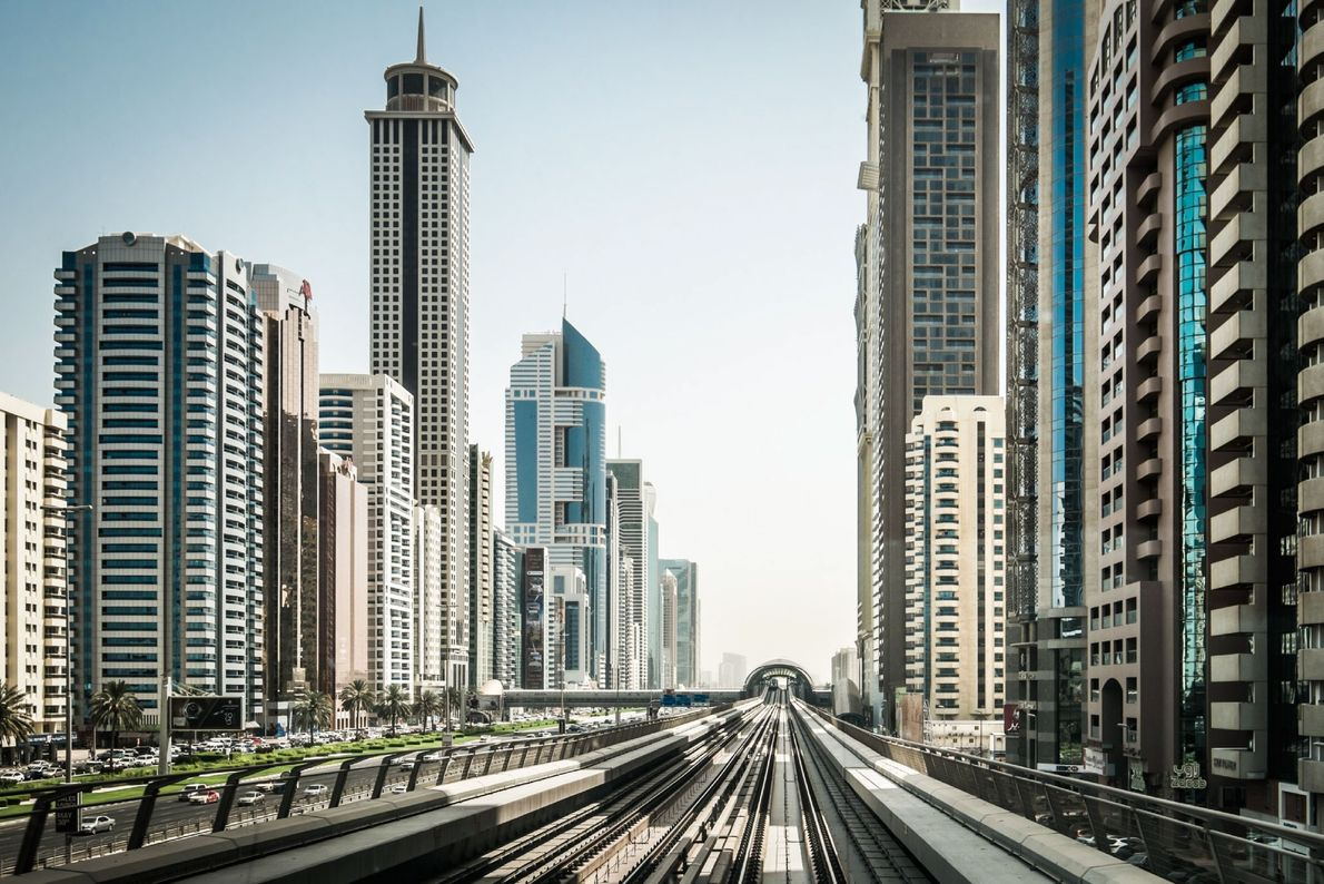 Train Through Dubai