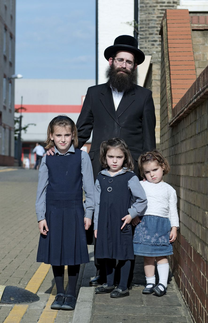 A resident and his family from Hackney, London.