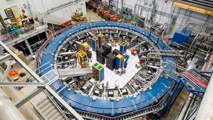 Ultra-precise experiment finds hints of unseen particles in the universe