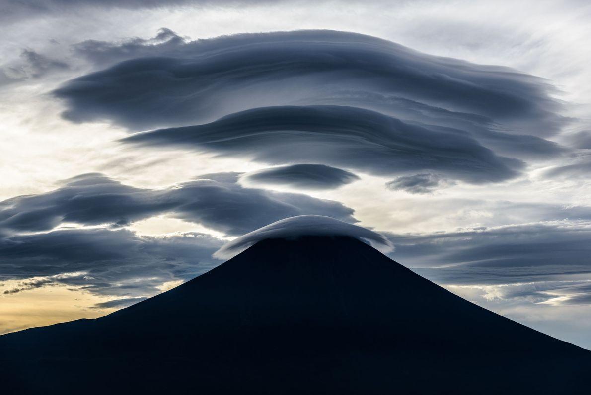 """Mt. Fuji is a treasure trove of mysterious shaped clouds,"" writes Your Shot photographer Takashi Nakazawa. ..."