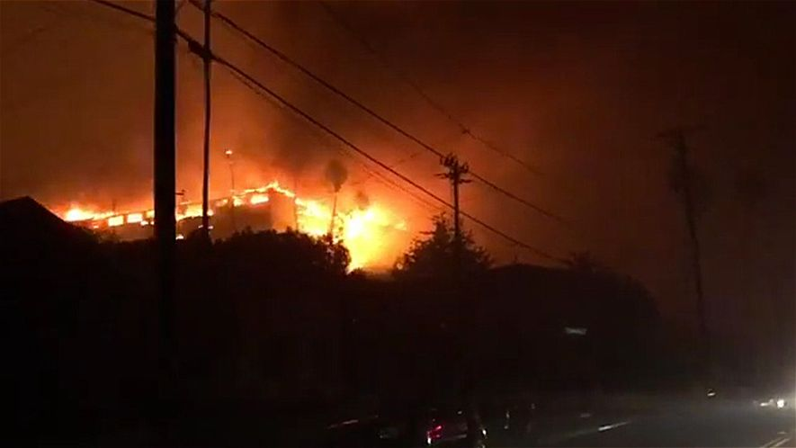 See the Deadly Fire Unfolding in California