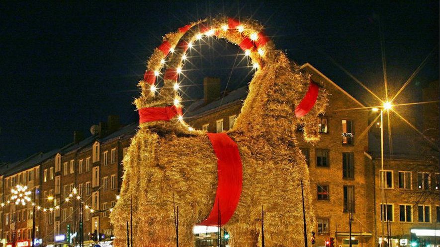 What Is a Yule Goat, and Why Does This One Keep Burning Down?