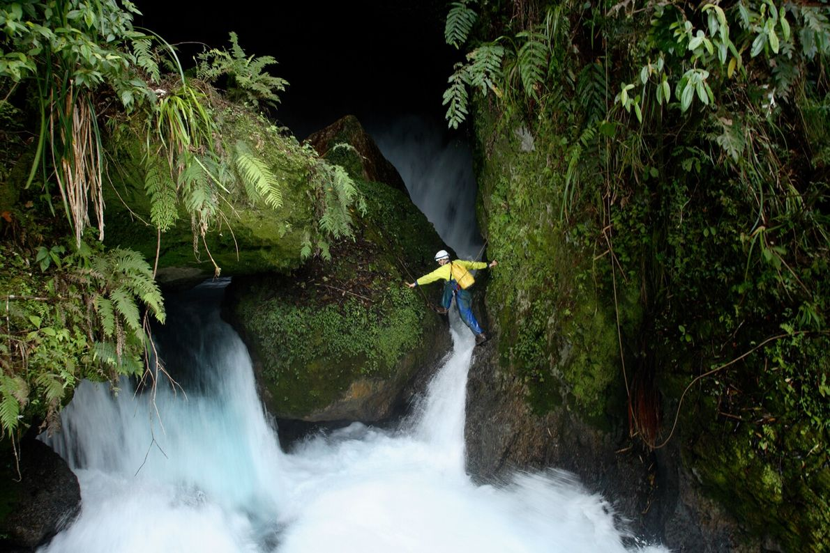 A story in the September 2006 issue featured a team of 12 people exploring and documenting ...
