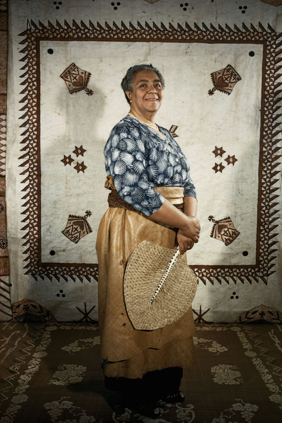 Tonga's queen Salote Tupou III ruled the island of Tonga for almost 48 years until her ...