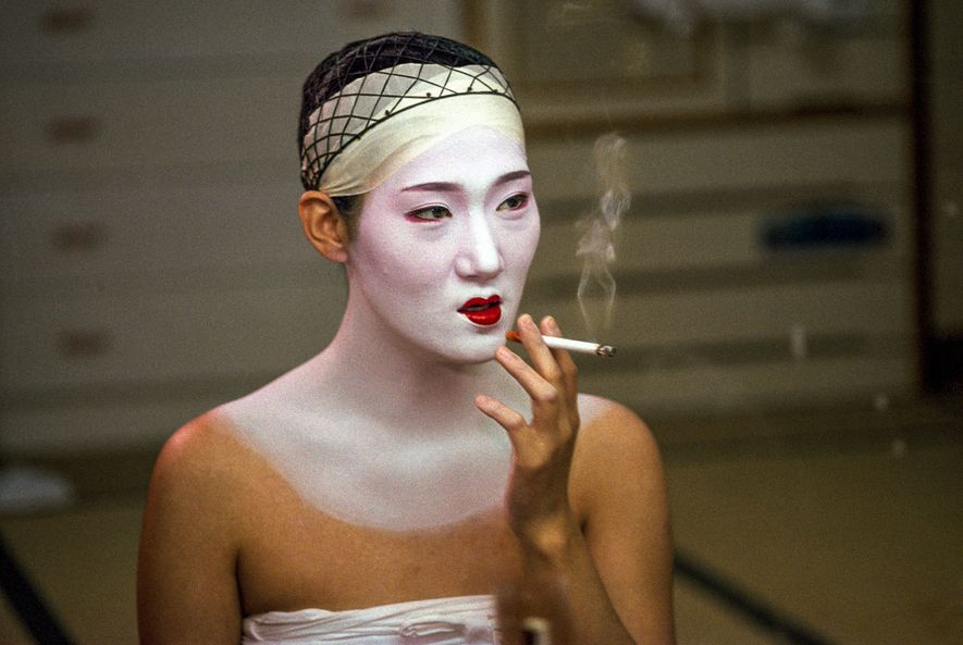 """""""A Japanese Geisha. Their lives are so exclusive and private that most Japanese have never even ..."""