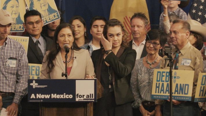 Inside Deb Haaland's historic bid to become one of the first Native congresswomen