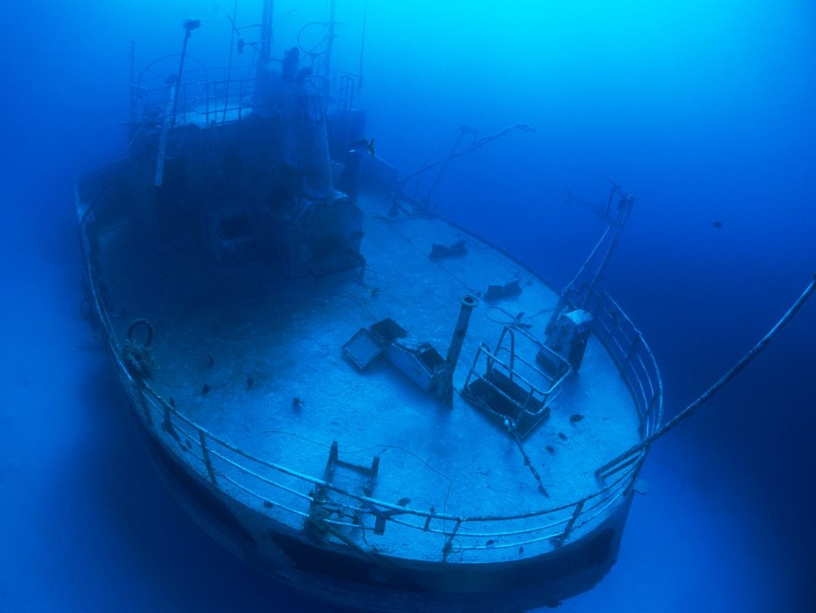 Centuries of heavy trans-Atlantic maritime traffic has littered North America's coastal waters with unfortunate ships like ...