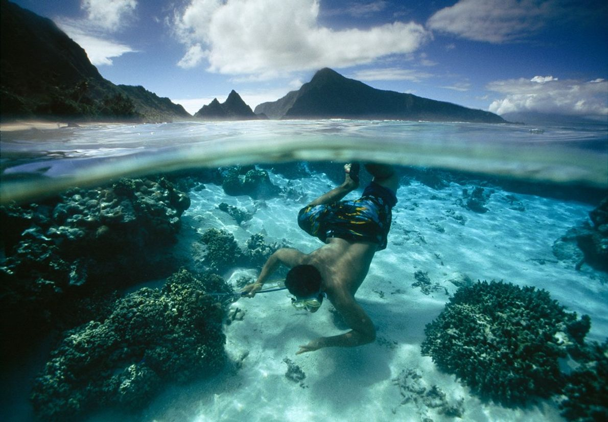 Coral reefs, rain forests, and volcanic peaks are among the gems found in the National Park ...