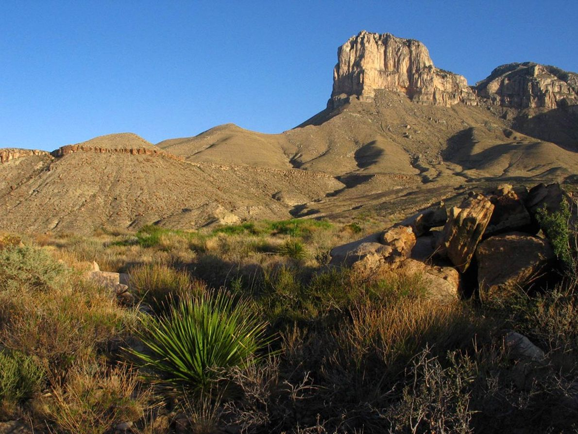 The site of the highest point in Texas, the 8,749-foot (2,600-metre) Guadalupe Peak, this sprawling park ...