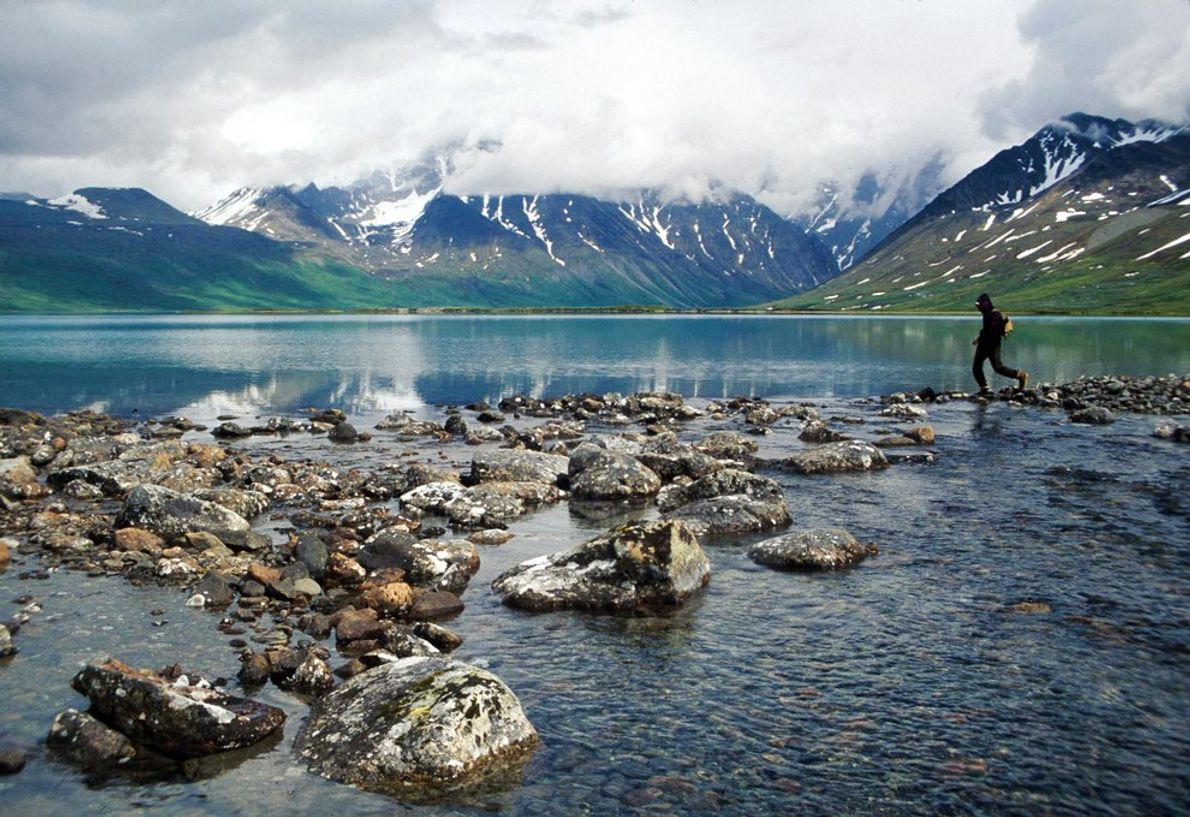 Home to stunning vistas, Lake Clark in southwestern Alaska is among the least visited in the ...