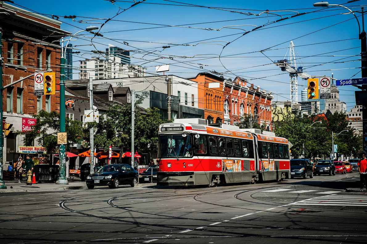 National Geographic named the 501 Queen Streetcar one of the world's Top 10 Trolley Rides and ...