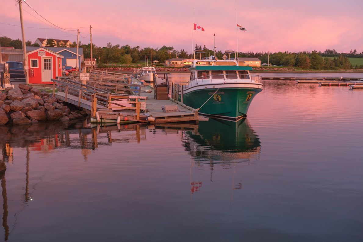 Prince Edward Island inspires sunrise drives, hikes, and bike rides to witness and photograph beautiful scenes ...