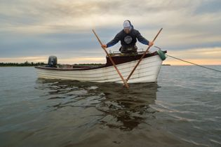 At Valley Pearl Oysters, Jeff Noye (pictured) and his partner, Damien Enman, harvest oysters the traditional ...