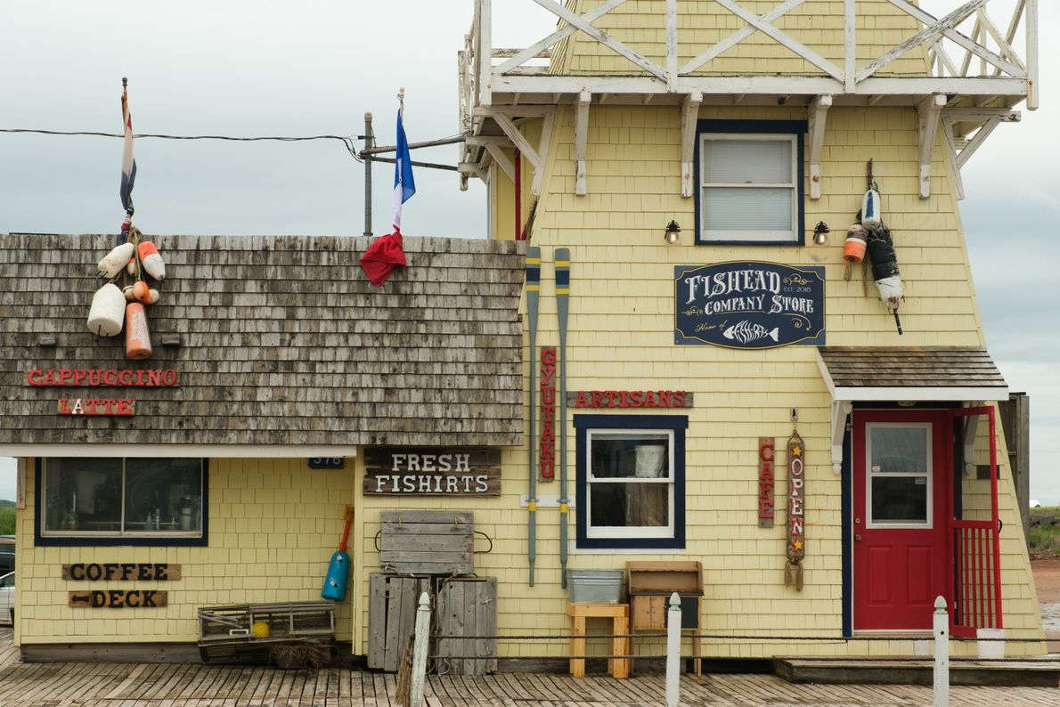 Worth the drive to the end of the road in North Rustico Harbour, The Fishead Company ...