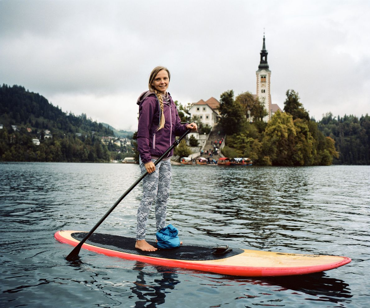 For centuries visitors have flocked to the crystal clear waters of Lake Bled, to swim, sail ...