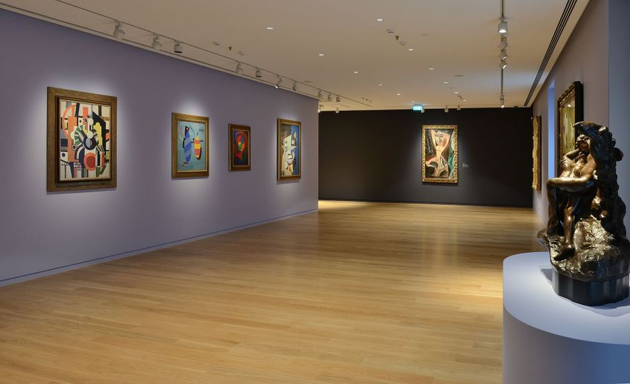 The Basil and Elise Goulandris Foundation displays artworks by European masters such as Paul Cézanne, Edgar ...