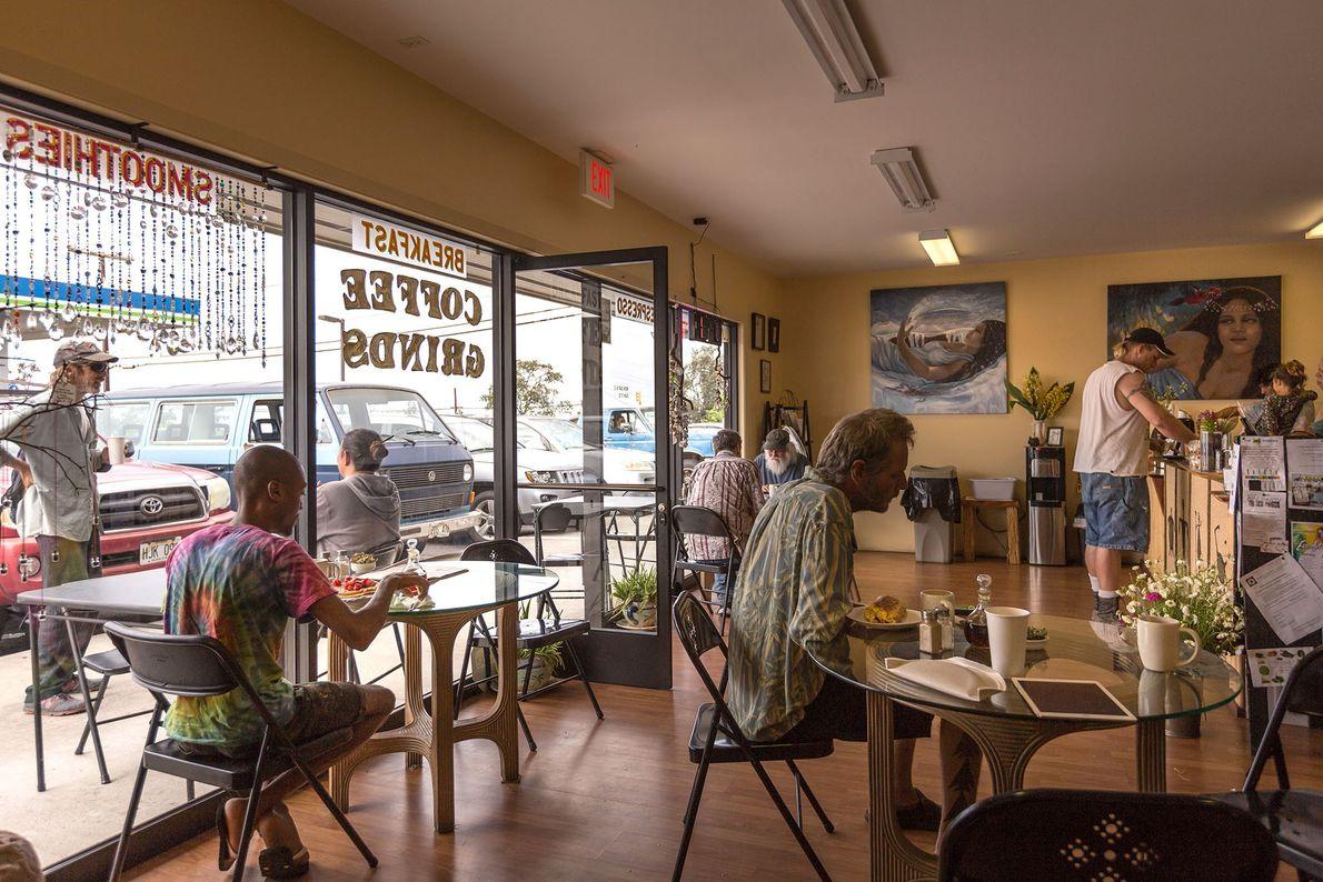 Develop a coffee habit in Kona
