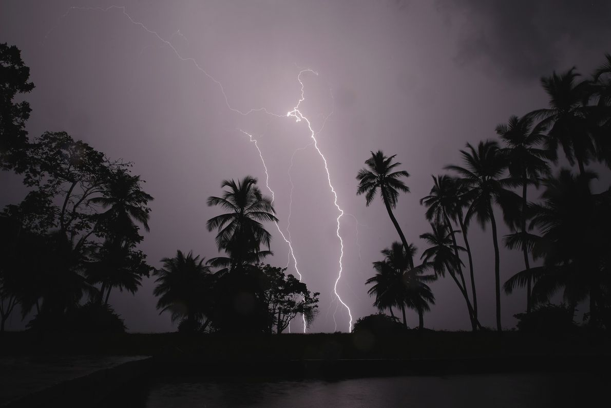 The spot where Venezuela's Lake Maracaibo meets the Catatumbo River is the most lightning-prone place on ...