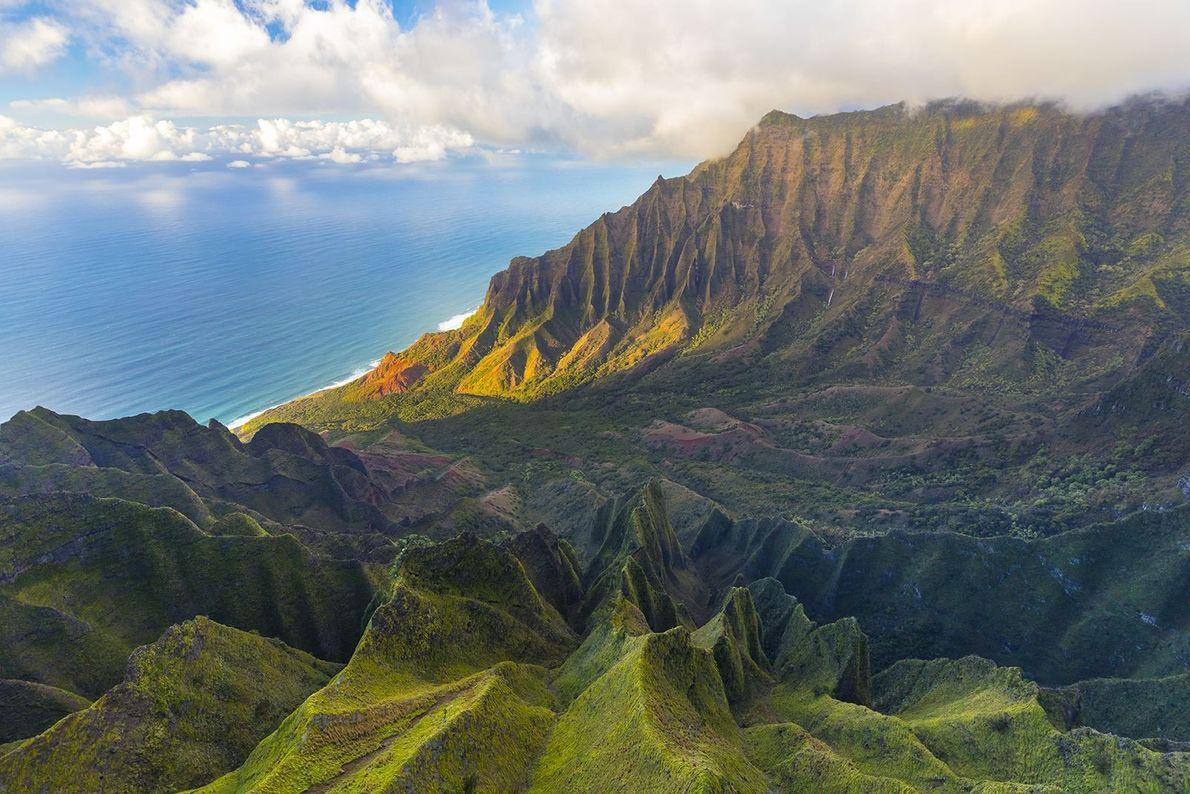 Napali Coast, Kauai, Hawai'i