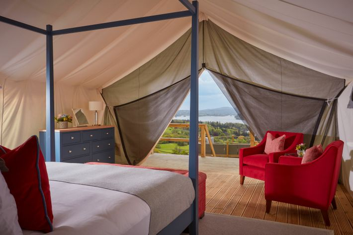 One of the most exciting additions to the UK glamping scene this summer are the new ...