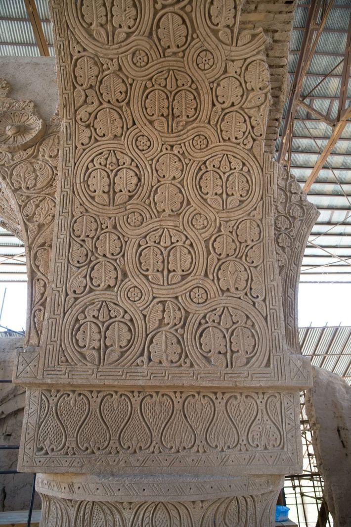 Noh Gunbad Mosque In Balkh, Afghanistan