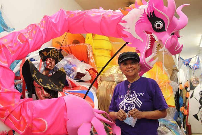 Clary Salandy is a co-founder of Mahogany Carnival Arts, a costume-design studio based in northwest London.
