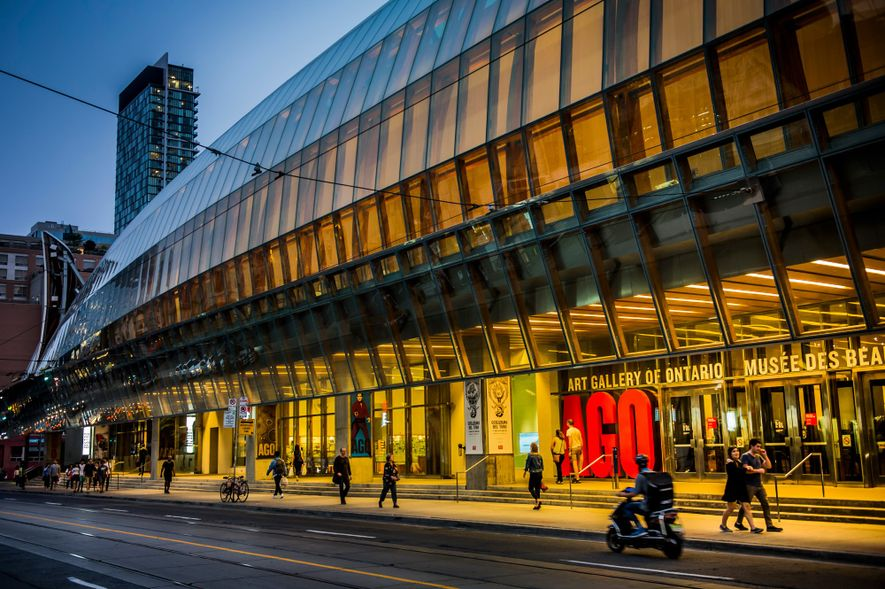 The Art Gallery of Ontario's collection includes more than 90,000 works spanning the first century to ...