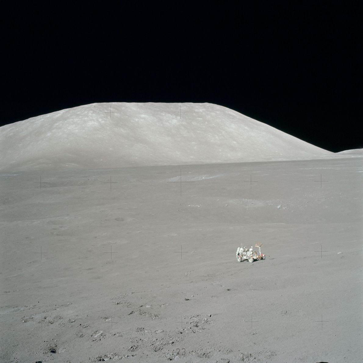NASA designed the Lunar Roving Vehicle to operate in low gravity and allow the astronauts to ...