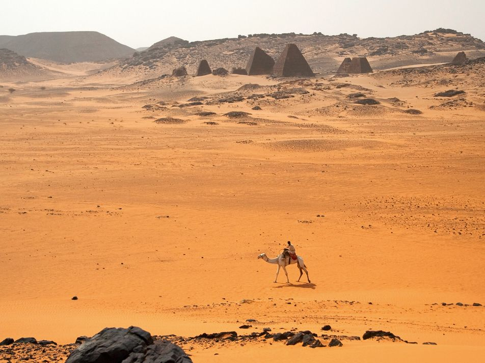 A journey through the ancient necropolises of Sudan's Nubian Desert