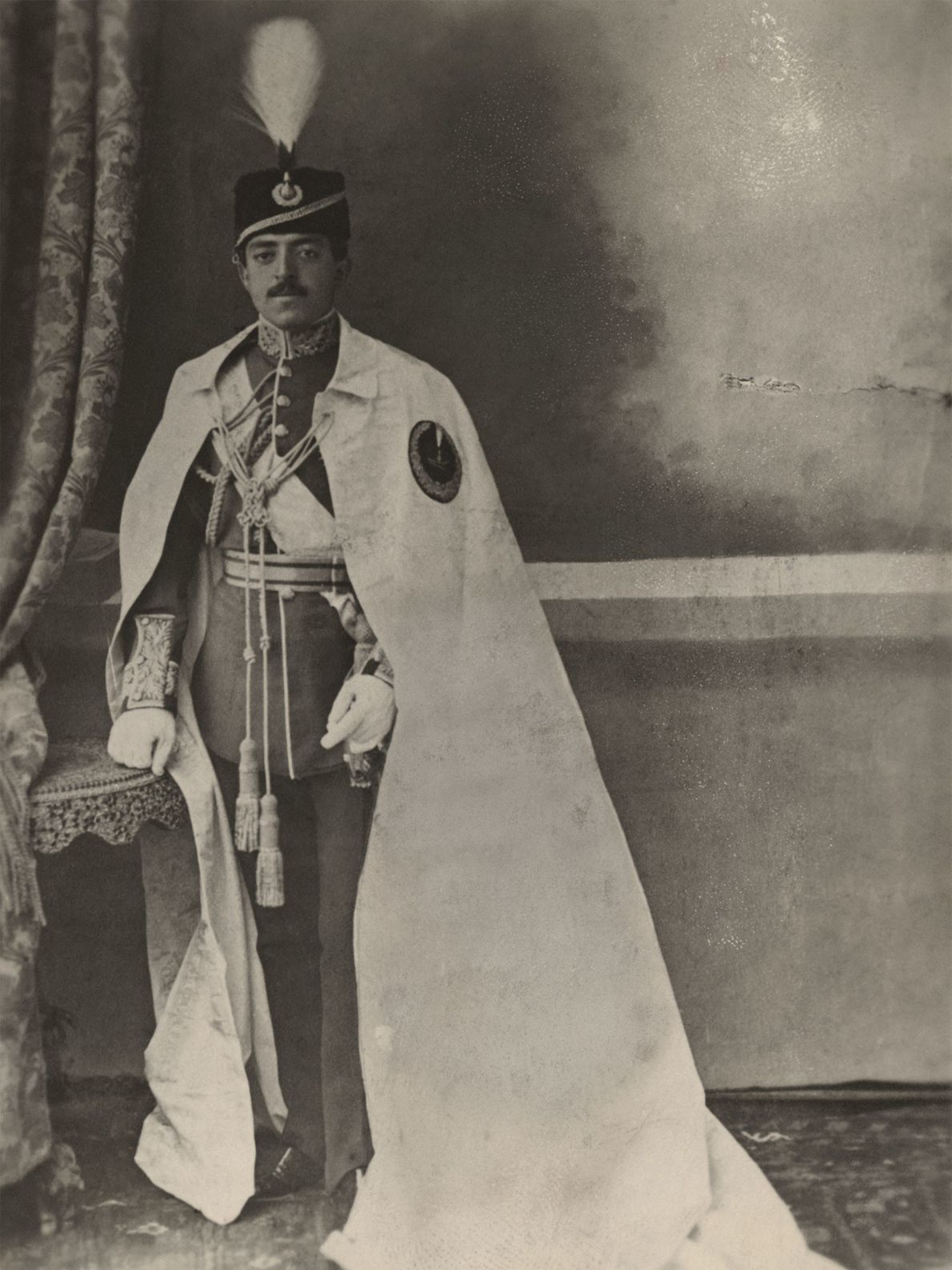 Amanullah Khan, the sovereign ruler of the kingdom of Afghanistan from 1919 to 1929, is pictured ...