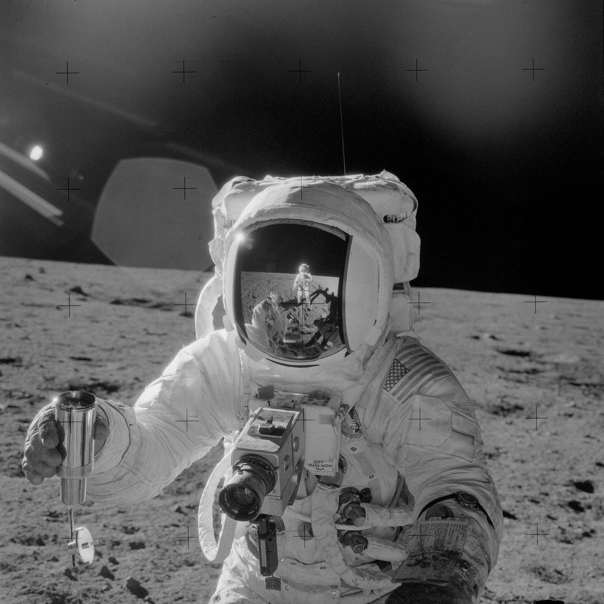 Astronaut Alan L. Bean was the Lunar Module pilot for the Apollo 12 mission. In this ...