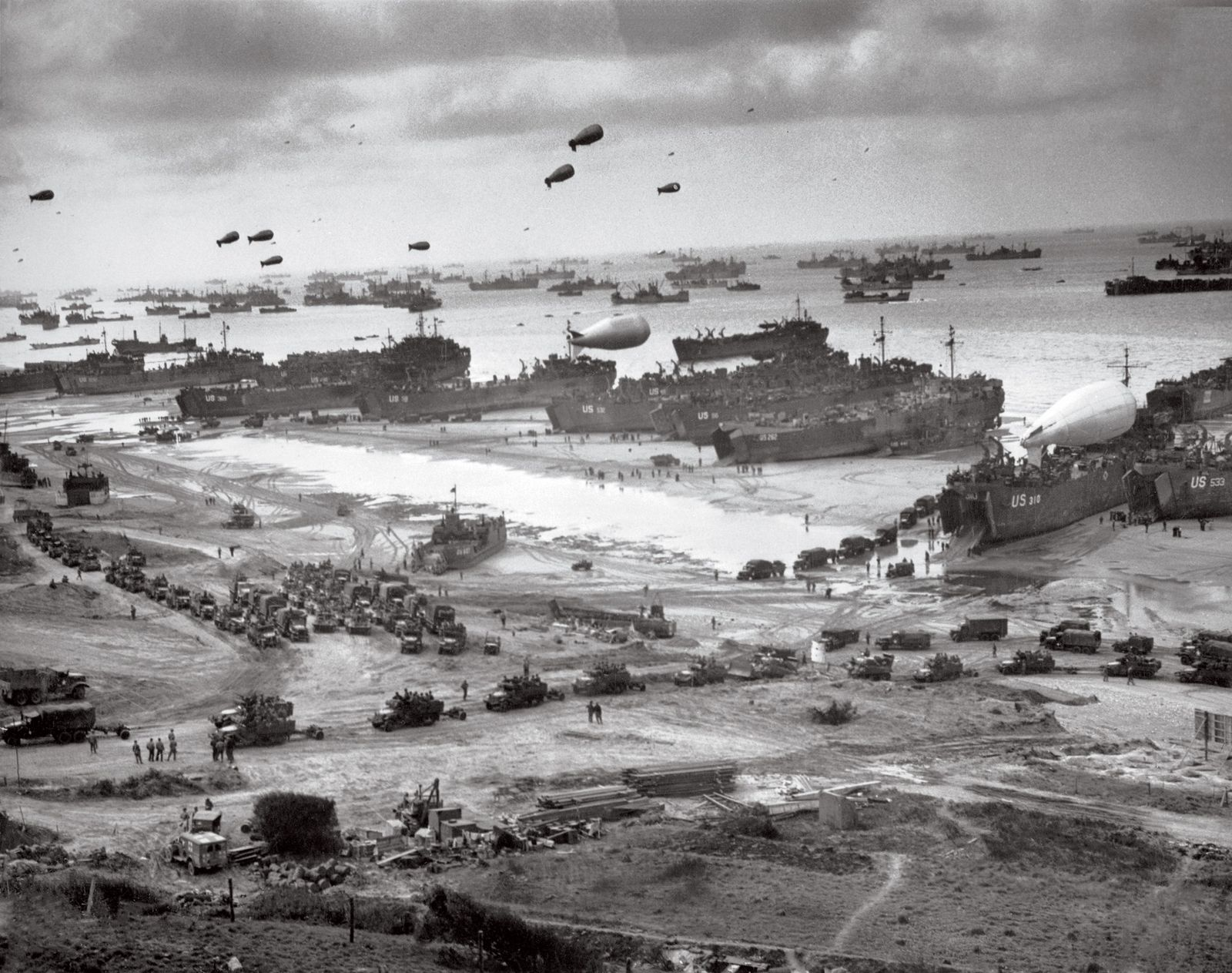 'Top Secret' maps reveal huge Allied effort behind D-Day