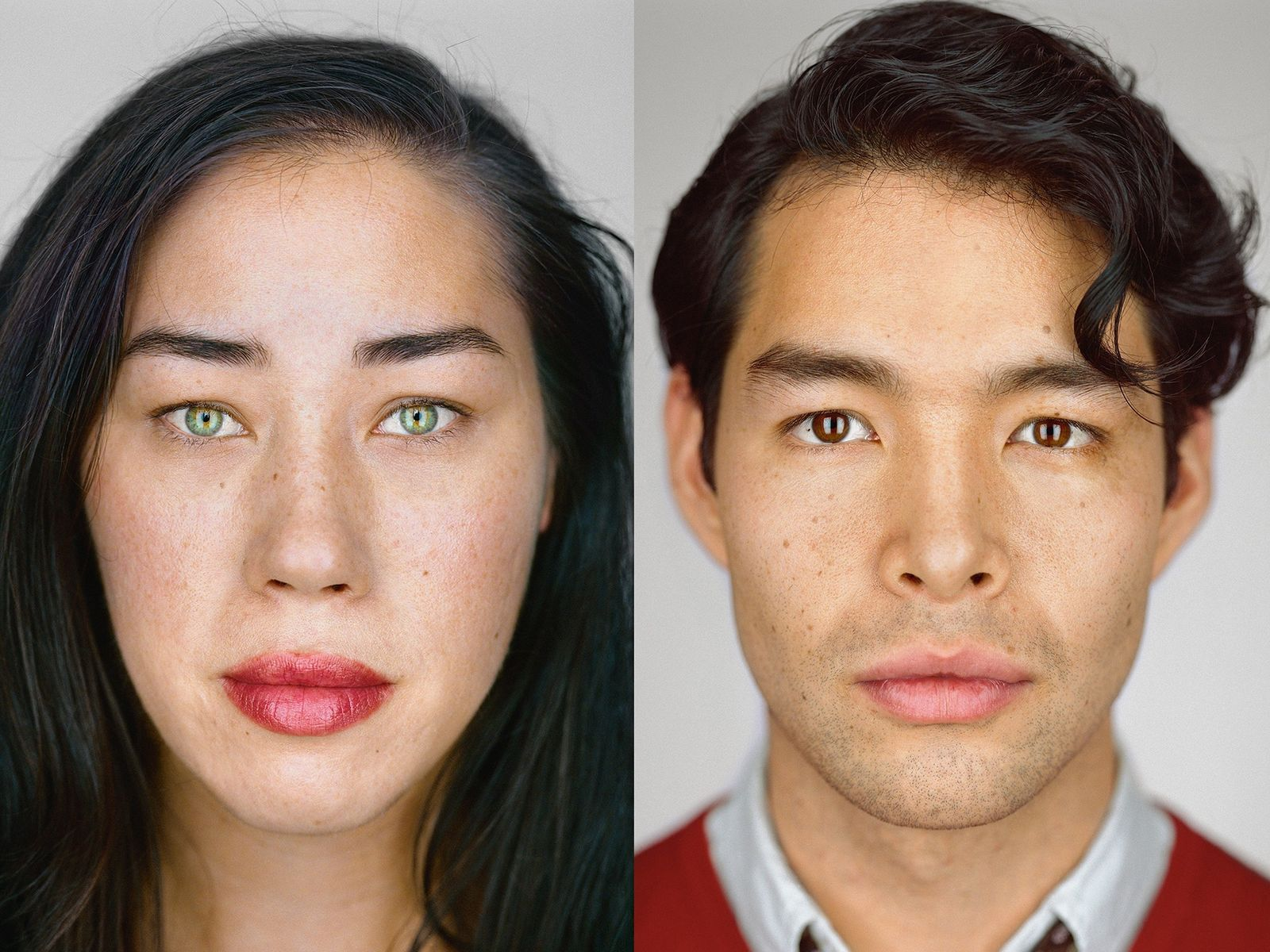 LEFT: Julie Weiss, 33, Hollywood, California   Self-ID: Filipino, Chinese, Spanish, Indian, Hungarian, and German Jew ...