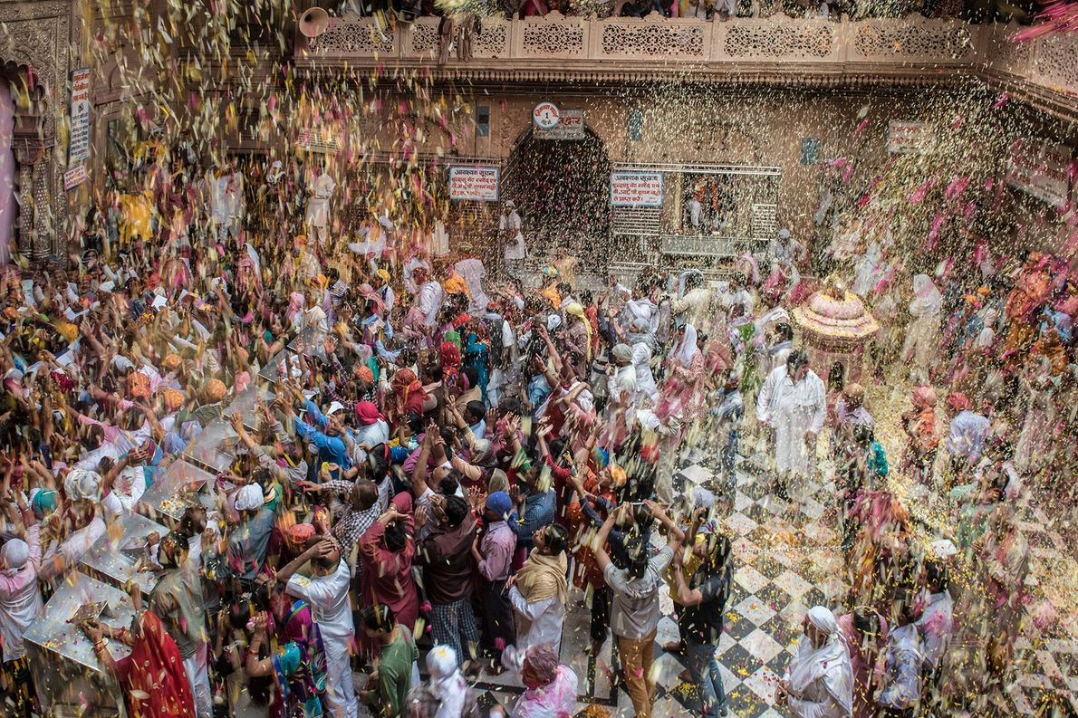 'Phoolon Ki Holi' (the 'Holi of Flowers') holds a different charm and is a particular attraction ...