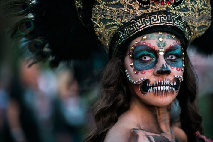 """""""The largest celebration of Dia de los Muertos (outside of Mexico) takes place in the Hollywood ..."""