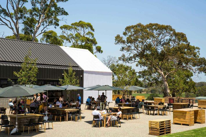 Lot.100, in the Adelaide Hills, is a former cattle pasture and now a collective which includes cellar doors, ...