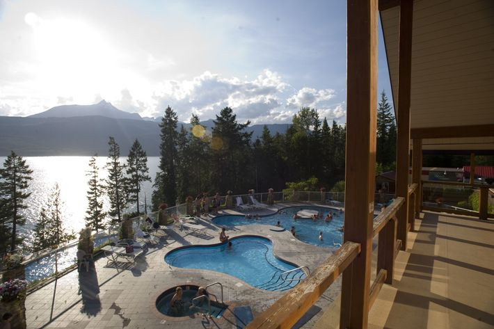 No trip to the Rockies is complete without a visit to a hot springs resort; there ...