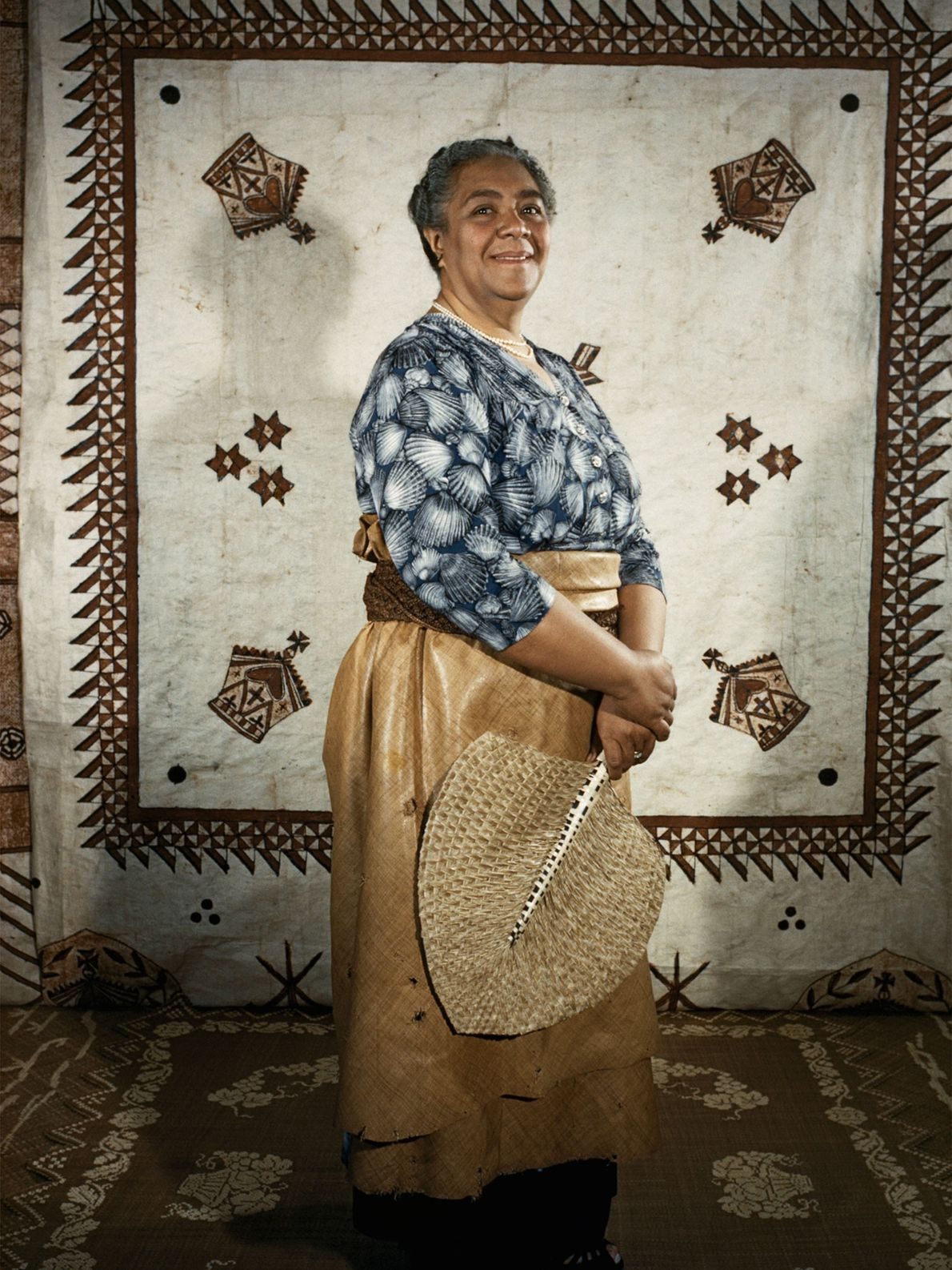 Salote Tupou III, Tonga's first reigning queen and the mother of Tāufaʻāhau Tupou IV, led the ...