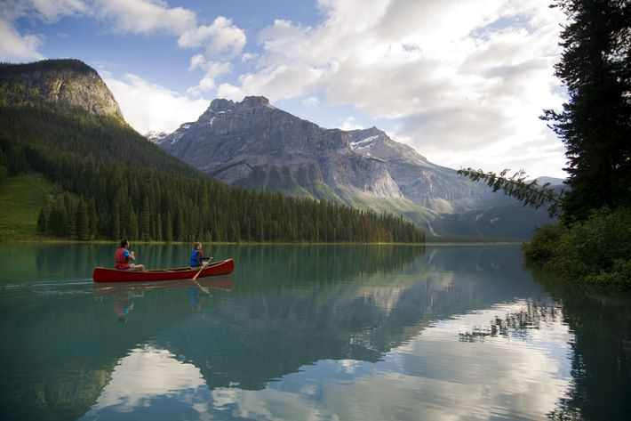 According to Brian Cross, British Columbia's peaks, as well as mountain lakes like Emerald Lake, are places to ...