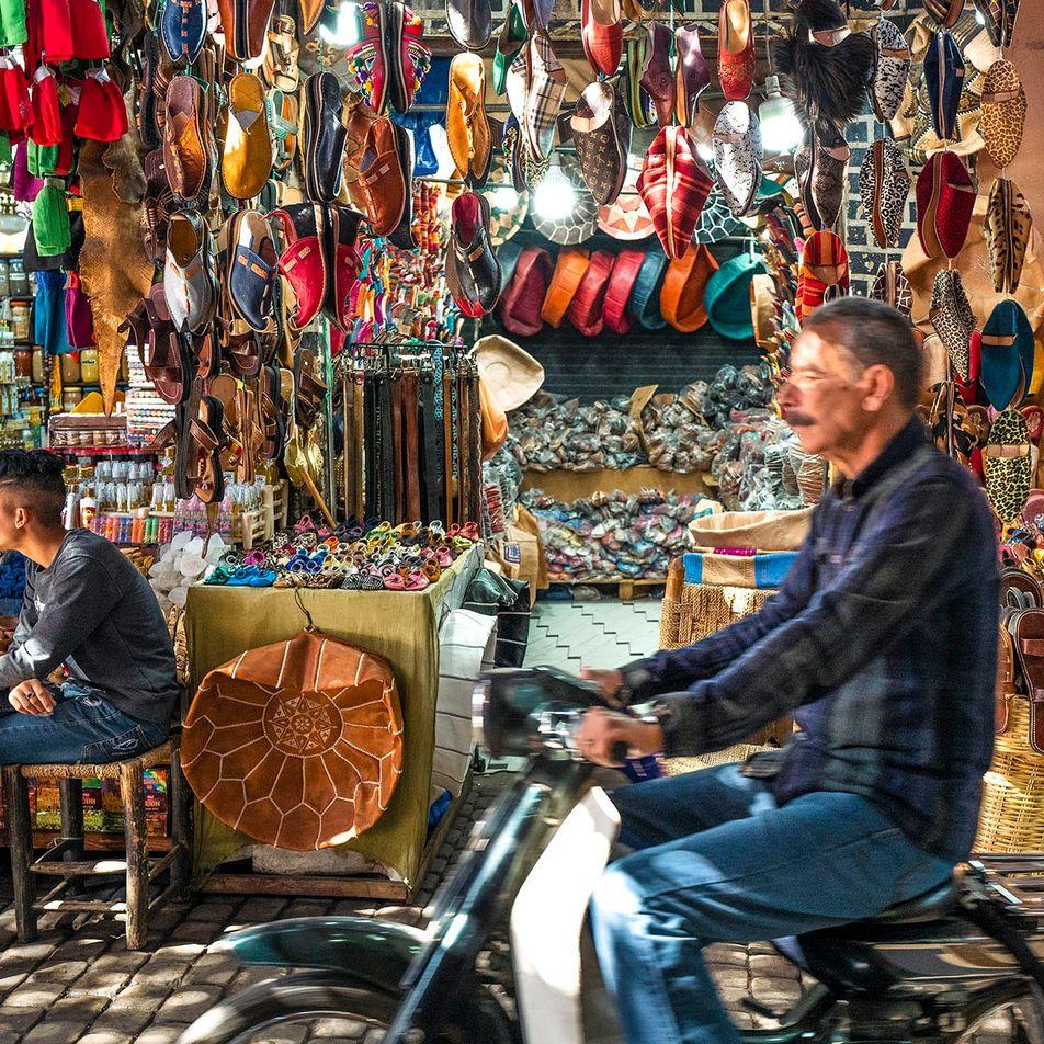 How I got the shot: Nico Avelardi on capturing the leatherworkers of Marrakech