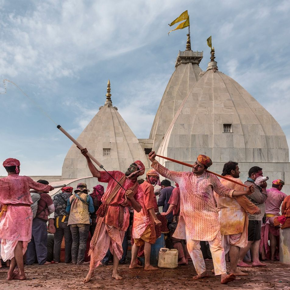 How I got the shot: Prabir Mitra on capturing the spirit of Holi, the Hindu festival ...