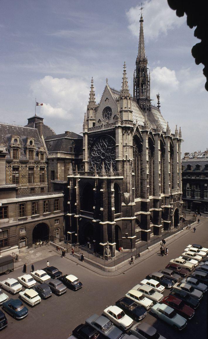 Private church for a king soars in Gothic glory on the Île de la Cité. Louis ...